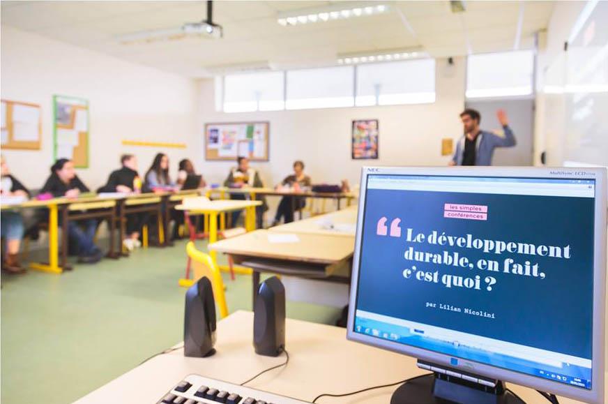 Intervention auprès des étudiants du BTS DATR (Développement et Animation des Territoires Ruraux) du LEGTA de Auch.